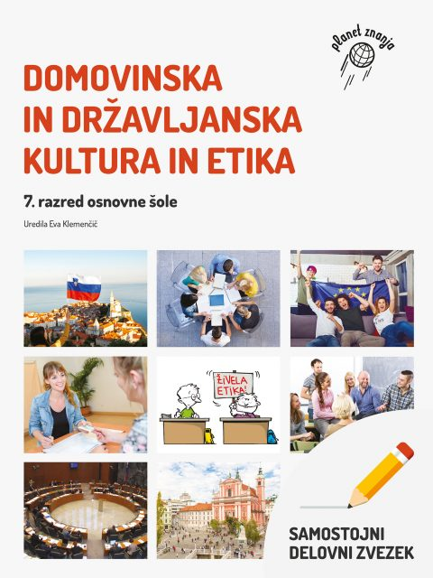 Samostojni delovni zvezek Domovinska in državljanska kultura in etika