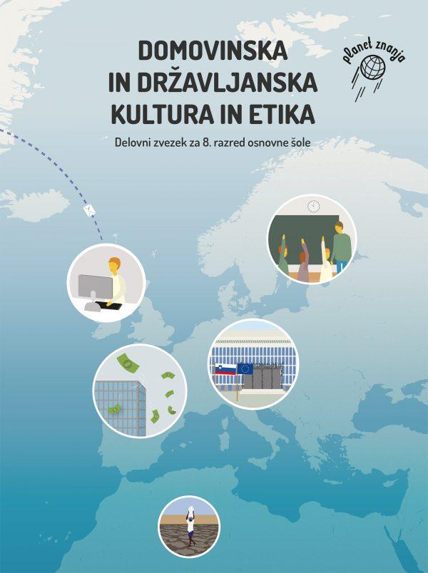 Delovni zvezek Domovinska in državljanska kultura in etika