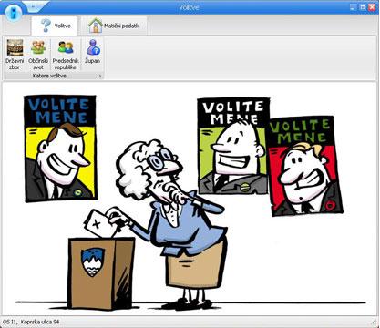 DDKE priročnik in program Volitve