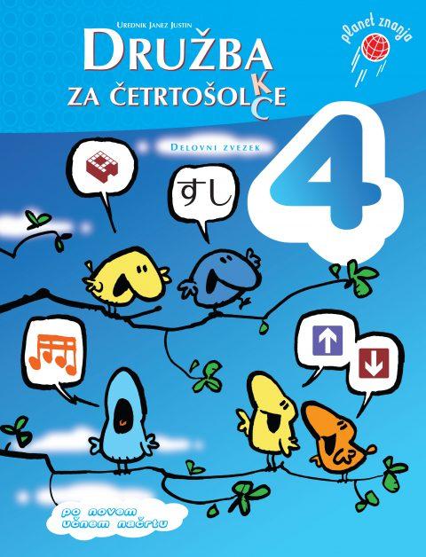 Delovni zvezek Družba za četrtošolc(k)e