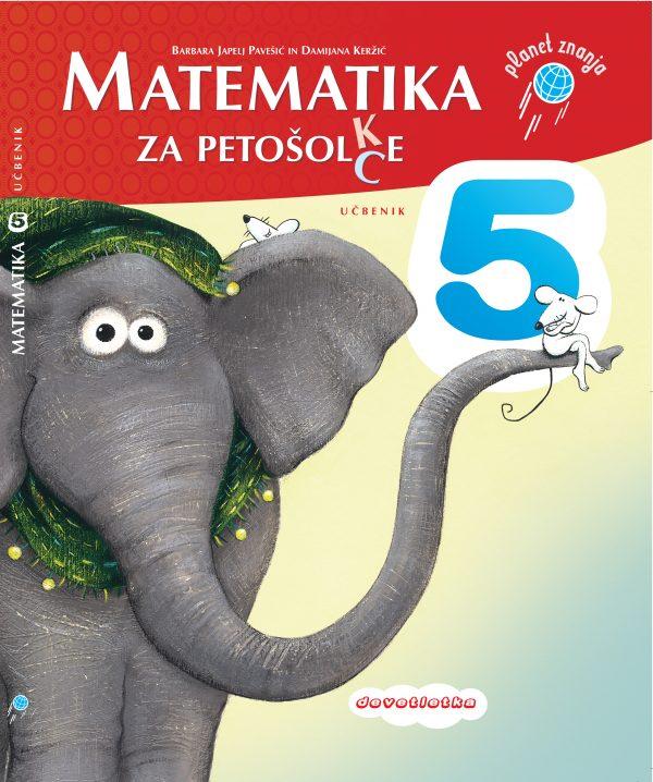Učbenik Matematika za petošolc(k)e
